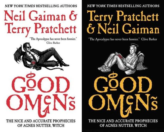 Boek cover Good omens van Terry Pratchett (Paperback)