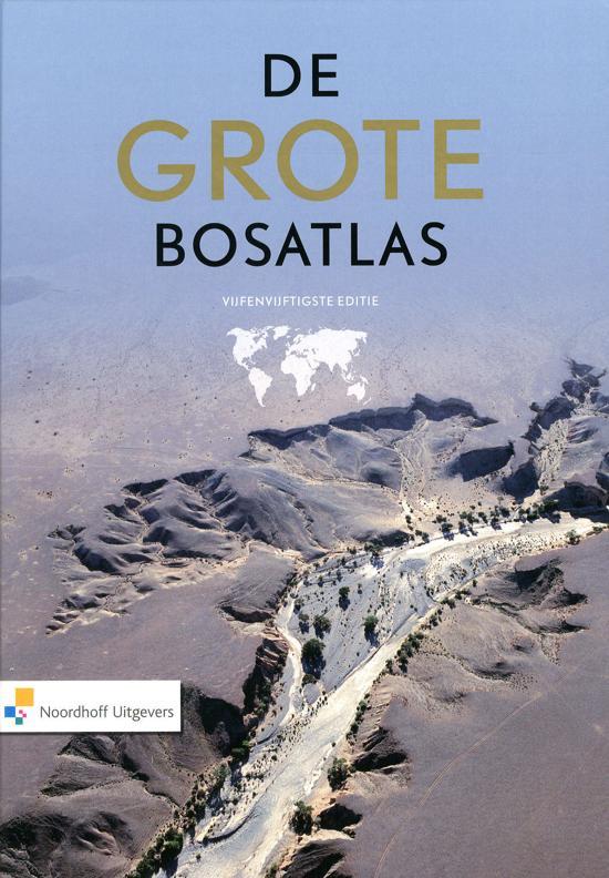 Boek cover De Grote Bosatlas - 55e editie van Diverse auteurs (Hardcover)
