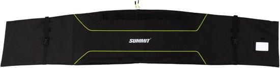 Summit Skifoudraal Large - Zwart/Fluorgeel