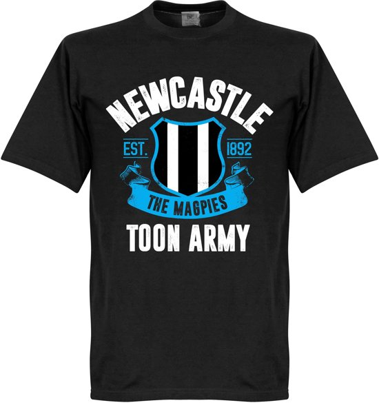 Newcastle Established T-Shirt - Zwart - XXXL