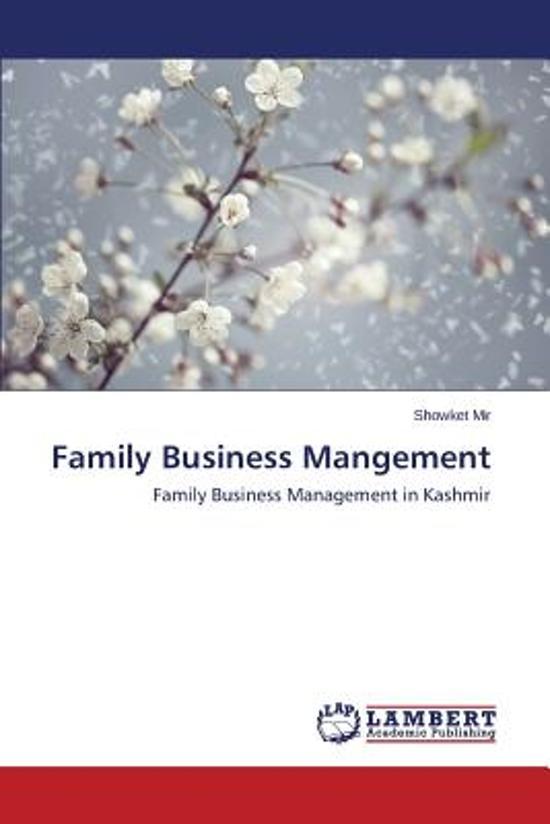 Family Business Mangement