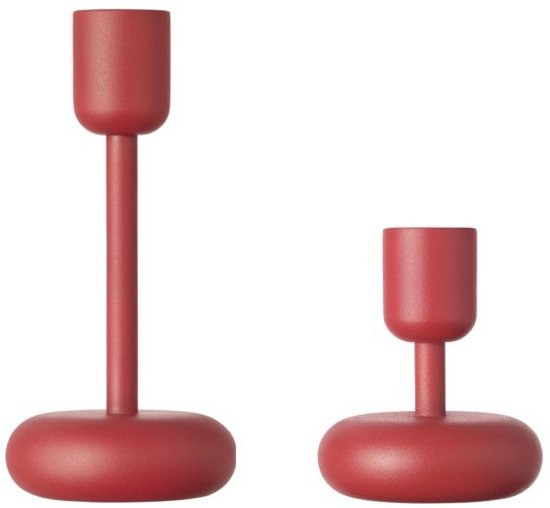 Nappula candleholder107&183 red 2set