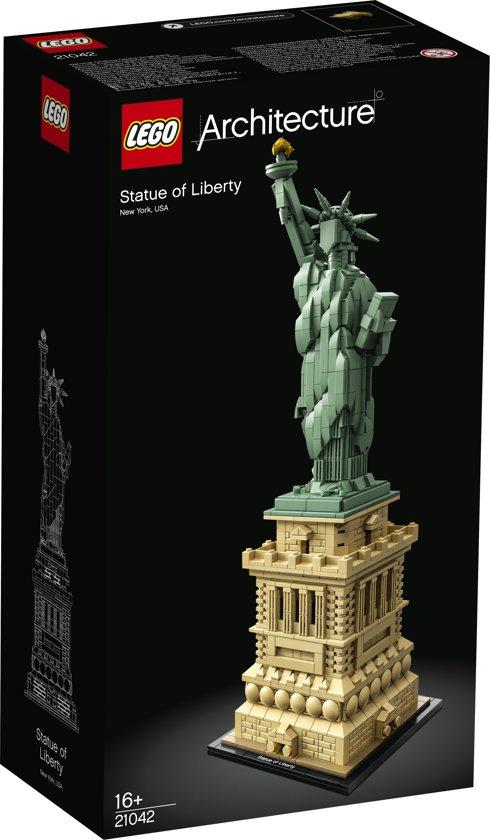 Vrijheidsbeeld Van Lego.Lego Architecture Vrijheidsbeeld 21042