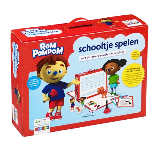 Rompompom Schooltje spelen