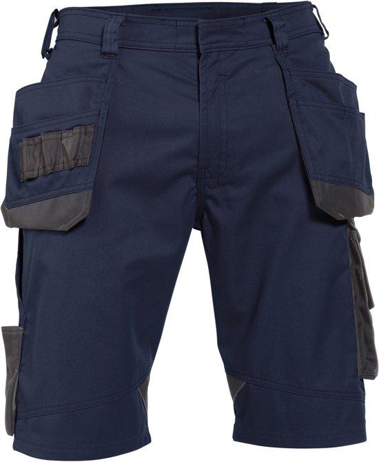 Korte werkbroeken Dassy BIONIC Korte Werkbroek Nachtblauw/AntracietNL:46 BE:40