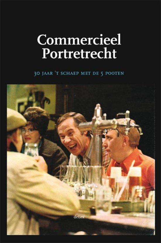 Boek cover Commercieel Portretrecht van D. Visser (Hardcover)