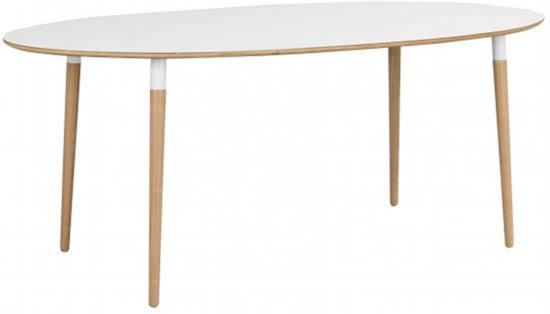 Favoriete bol.com | Nordiq Fusion table - Scandinavische Ovale eettafel @FY41