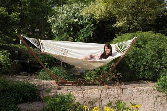 Bo-garden Hangmat - Samba - Met Spreidstok - Haze