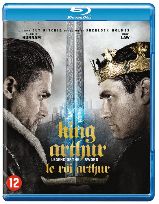 DVD cover van King Arthur: Legend of the Sword (2017) (Blu-ray)
