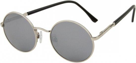 e0c05594818d69 Vintage ronde zonnebril zilver