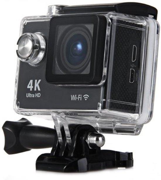 WiFi Sport Actie Camera H9   Action Camera   4K Ultra HD   2 Inch LCD   HDMI   Inclusief Waterdichte Beschermhoes