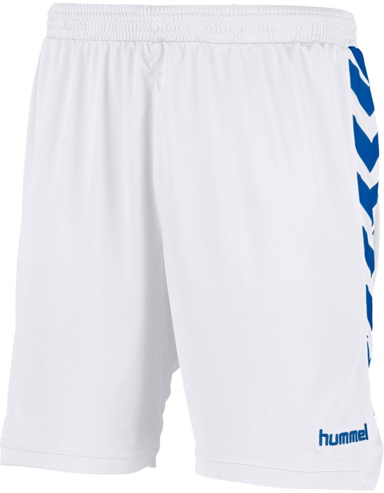 Hummel Burnley Voetbal Short - Shorts  - wit - 140