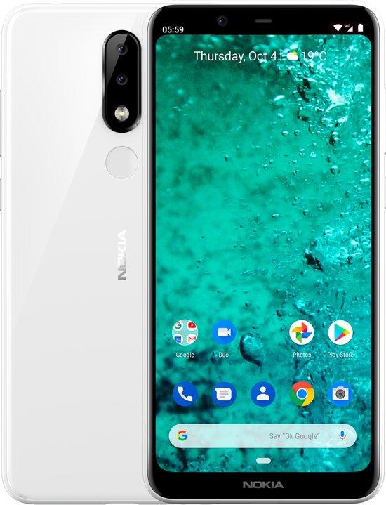 Nokia 5.1 Plus - 32GB - Wit