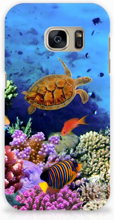 Samsung Galaxy S7 Hardcase Hoesje Design Vissen