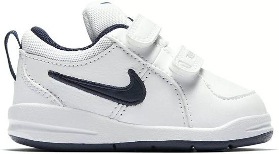 Nike Pico (TDV) Sneakers Jongens - White/Midnight Navy - Maat 25