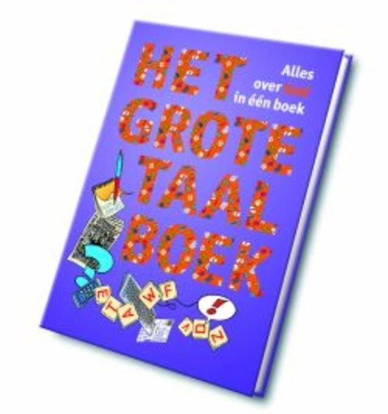 Boek cover Het grote taalboek Overzicht van Wim Daniëls (Hardcover)
