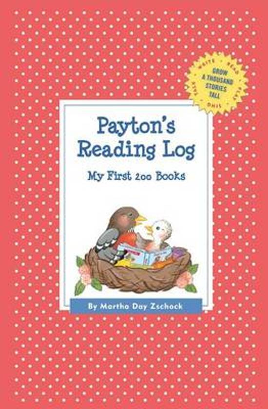 Payton's Reading Log