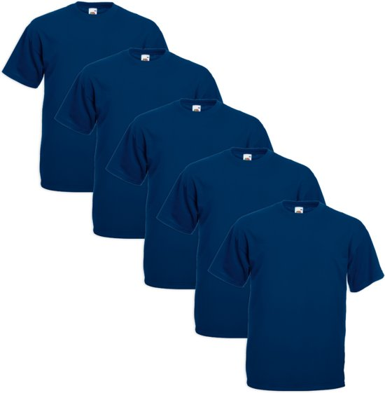 Weight Of The Marineblauw Loom Maat T Value shirt 5xlxxxxxl 5x Grote Fruit orxeWdBC