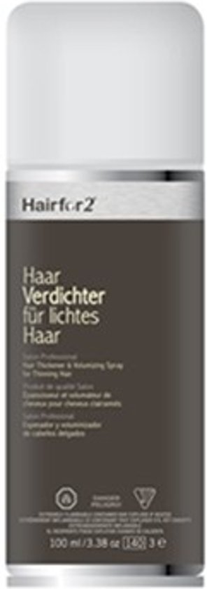Volluma/Hairfor2 Colorspray 100 ml.-Kastanjebruin