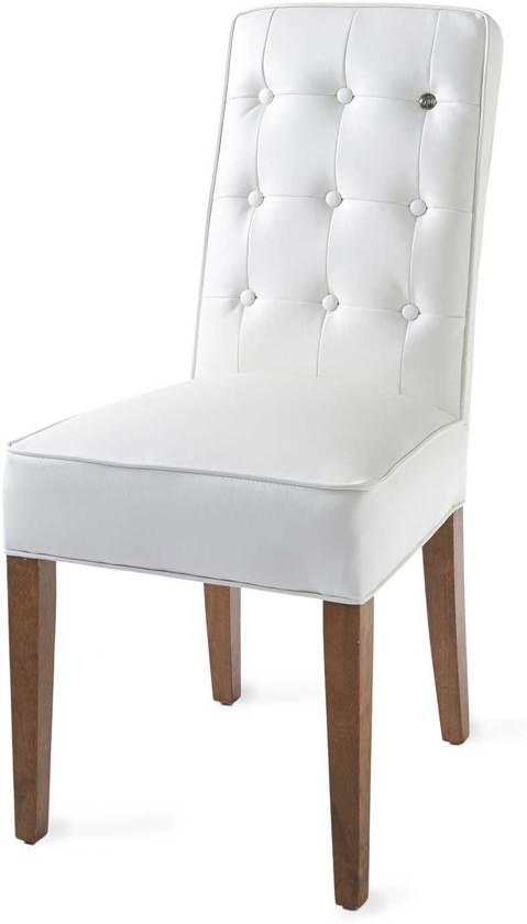 Eetkamerstoelen Beige Leer.Bol Com Riviera Maison Cape Breton Dining Chair Eetkamerstoel