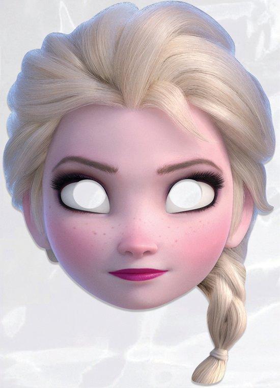 Masker Elsa Frozen