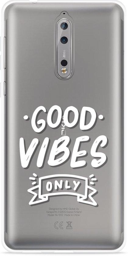 Bonnes Vibes Conception De Cas De Tpu Pour Samsung Galaxy S8 nGCARDKGkD
