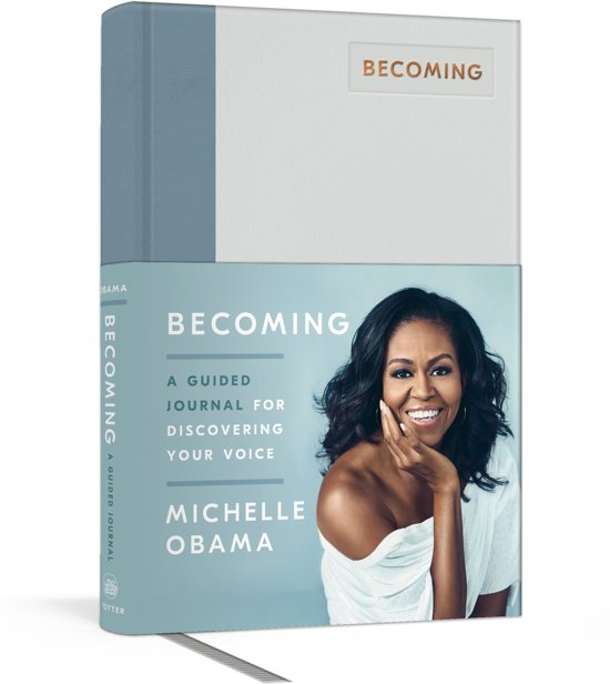 Afbeelding van Becoming: a guided journal for discovering your voice - Michelle Obama