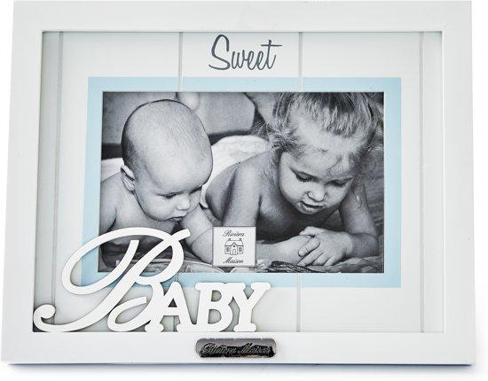 bol.com | Rivièra Maison Sweet Baby Boy - Fotolijst - Fotoformaat 15 ...