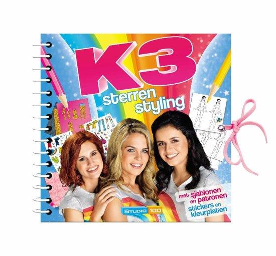 Boek cover K3 - K3 : sterrenstyling van Gert Verhulst (Hardcover)