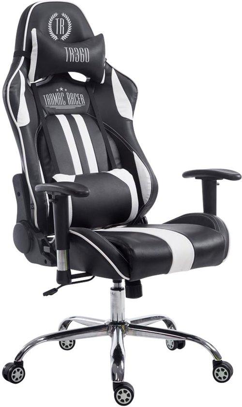 Groovy Clp Racing Bureaustoel Limit Xl Gaming Stoel Max Belasting 150 Kg Kunstleer Zwart Wit Zonder Voetsteun Pdpeps Interior Chair Design Pdpepsorg