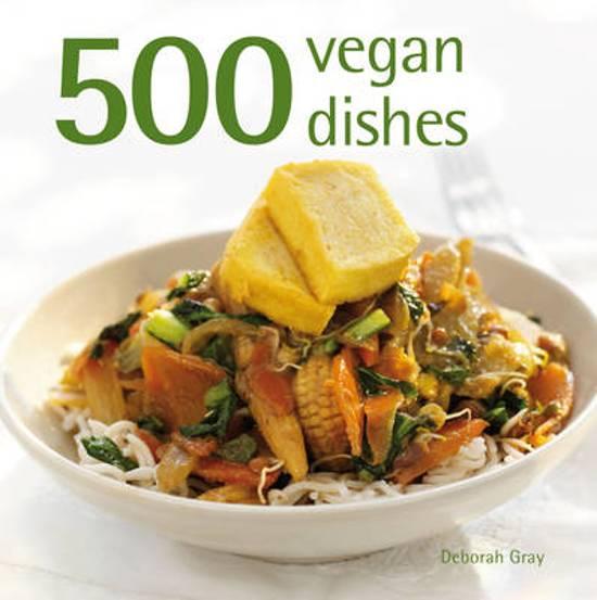 Boek cover 500 Vegan Dishes van Deborah Gray (Onbekend)