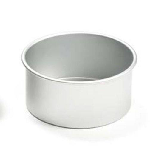 Ronde aluminium bakvorm 10cm hoog, 35cm à - Decora