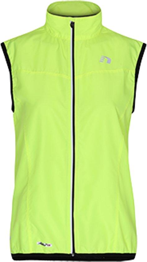 Newline Base Tech Vest 13247-905 - Hardloopjas - Dames - Neon Yellow - Maat XL