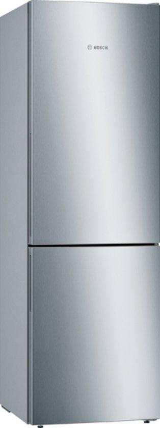 Bosch KGE36VI4A Serie 4 - Koelvriescombinatie - RVS deur