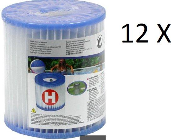 Intex H Filter 12 pack