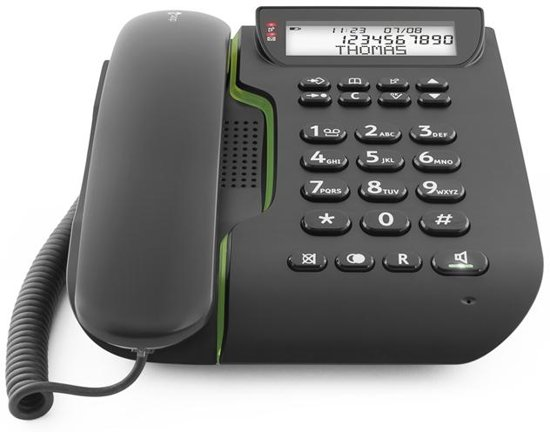 Doro Comfort 3000 - Big Button telefoon - Zwart