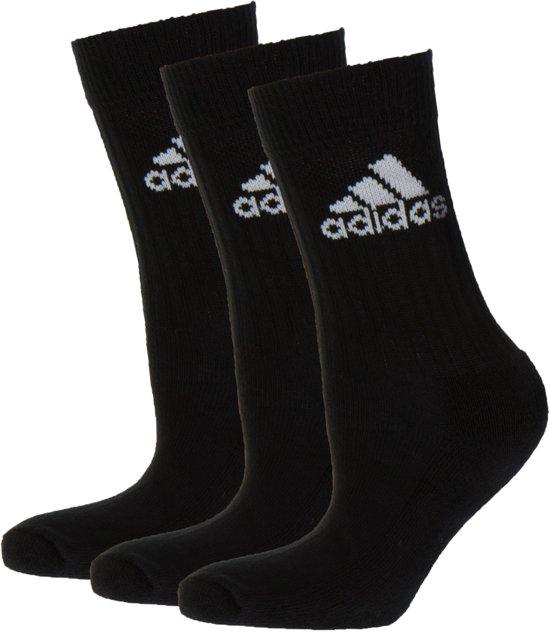 bol com adidas adicrew sokken sportsokken maat 27 30 unisexadidas adicrew sokken sportsokken maat 27 30 unisex zwart wit