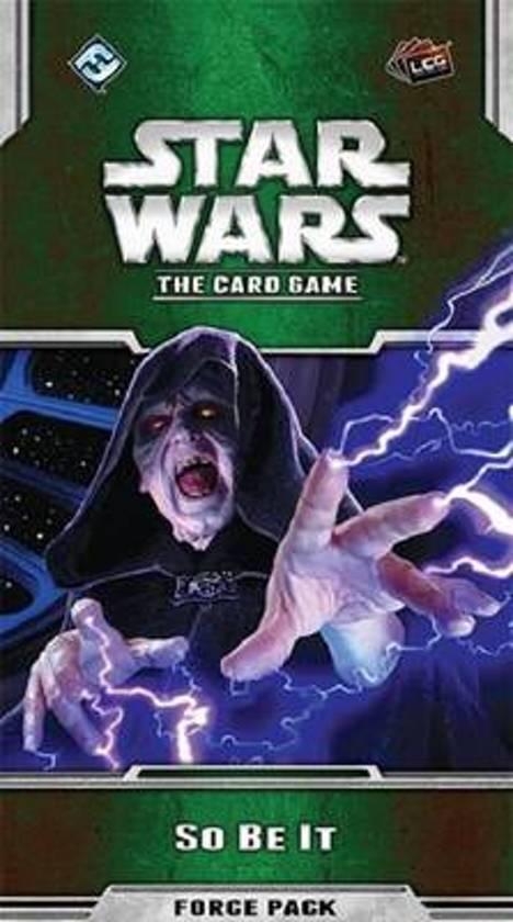 Afbeelding van het spel Star Wars Lcg So Be It Force Pack Expansion