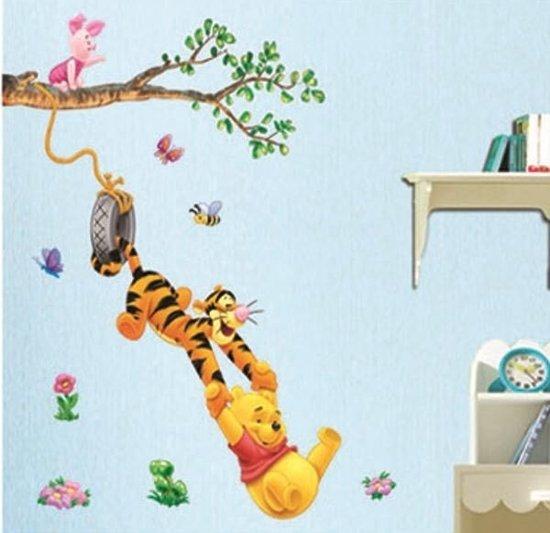 Muurstickers Winnie The Pooh Zwart Wit.Bol Com Winnie The Pooh Muursticker Kinderkamer