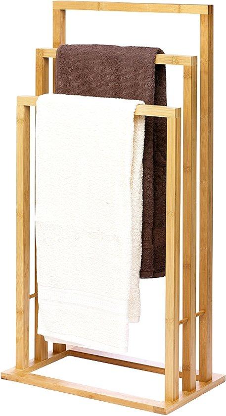 bol.com | Bamboe Handdoekenrek