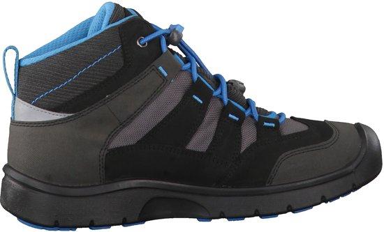 bol | keen hikeport mid wp schoenen kinderen blauw/zwart