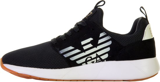 Fusion 1 45 3 Ea7 Maat Mannen Sneakerssneakers Racer Zwart wit Rddq7w