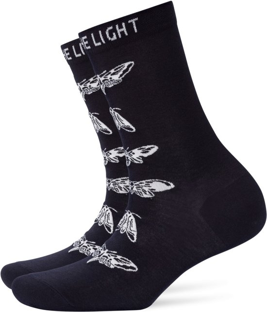 Burlington Moth Sokje Dames 20746 - 36-41 - Zwart