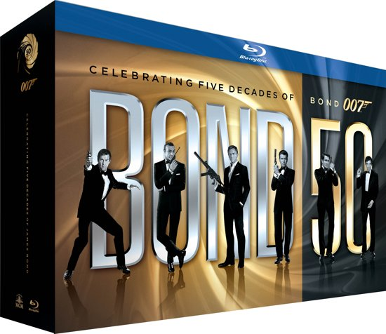 DVD cover van James Bond - 50th Anniversary Collection  (Blu-ray)