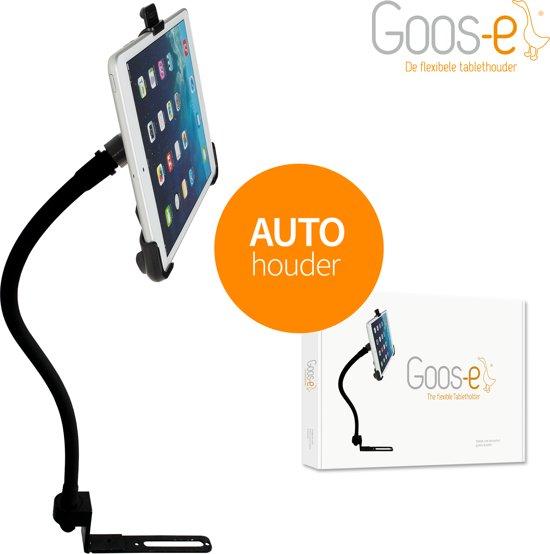 GOOS-E Tablet houder auto - iPad houder auto - Tablethouder auto - voorin + achterin - universeel - flexibel - sterk - stabiel - stijlvol