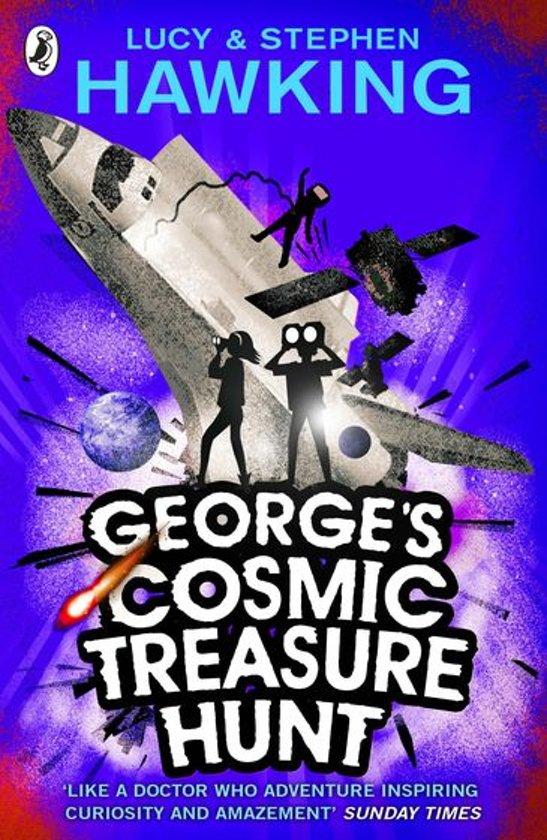 Boek cover Georges Cosmic Treasure Hunt van Lucy Hawking (Onbekend)