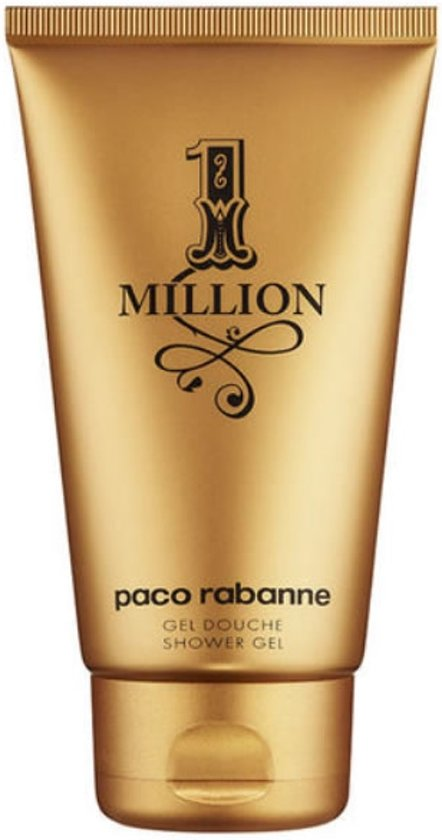 MULTI BUNDEL 2 stuks Paco Rabanne One Million Shower Gel 150ml