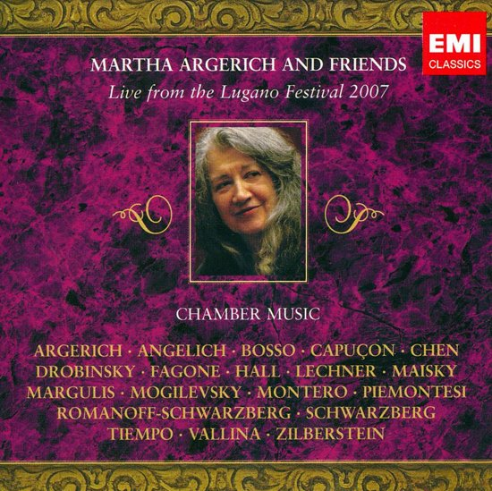 Martha Argerich and Friends: Live from the Lugano Festival 2007