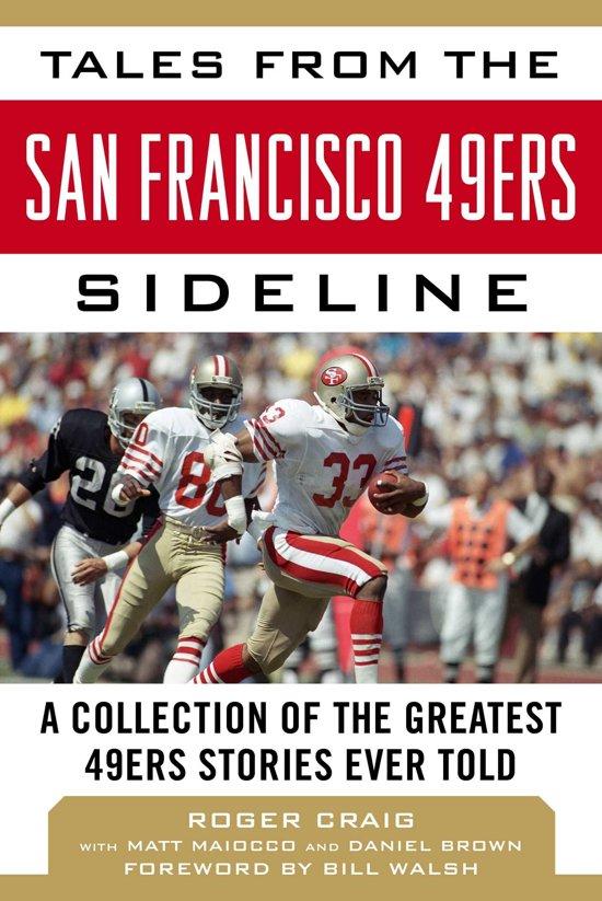 Boek cover Tales from the San Francisco 49ers Sideline van Roger Craig (Onbekend)