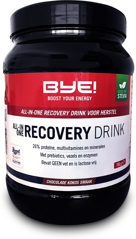 BYE All-In-One Recovery Drink - Chocolade Kokos - 750 gram